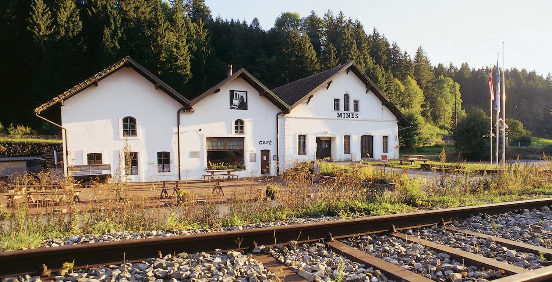 Mines d'asphalte, la Presta, Val-de-Travers, Couvet