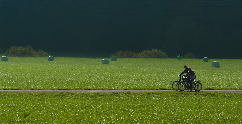 Vélo électrique au Val-de-Travers