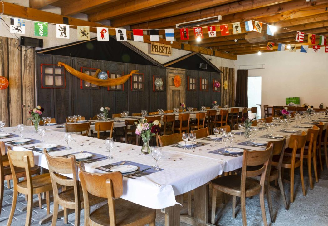1. August-Brunch im Café des Mines