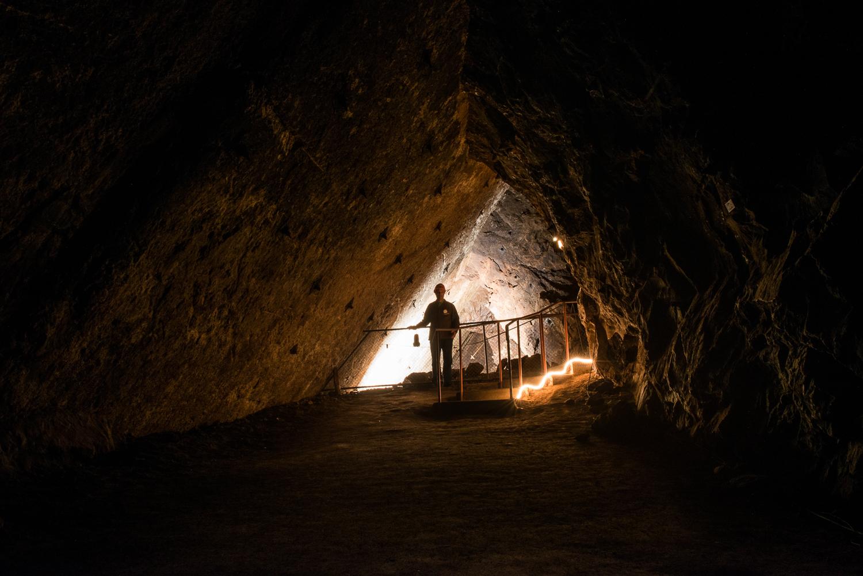 Visite guidée des mines d'asphalte du Val-de-Travers près de Neuchâtel, avec dégustation
