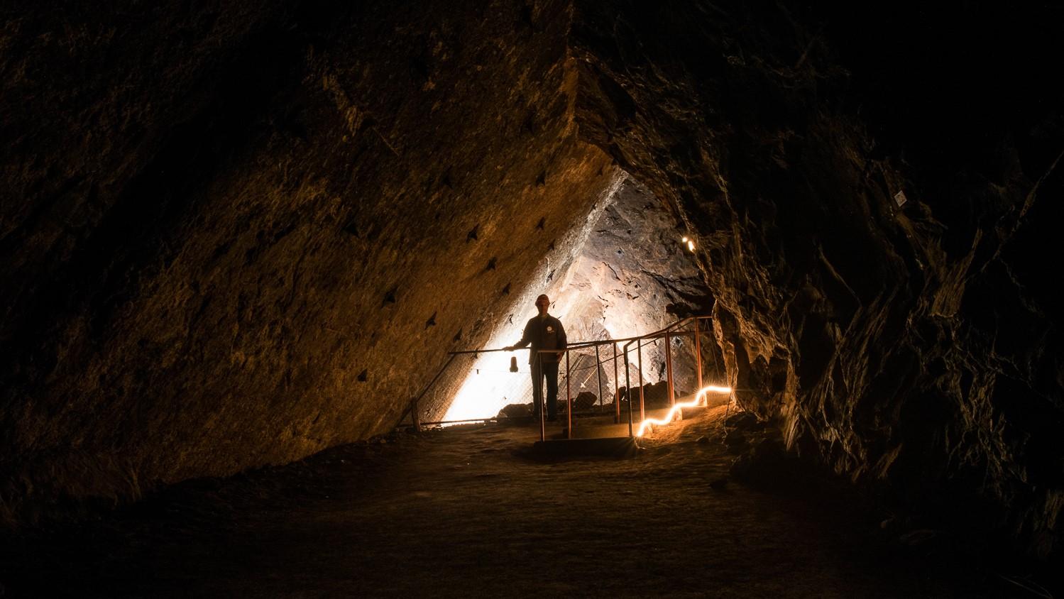 Visites des Mines d'asphalte: spécialement adaptée pour les écoles, Mines d'asphalte, Val-de-Travers, Neuchatel