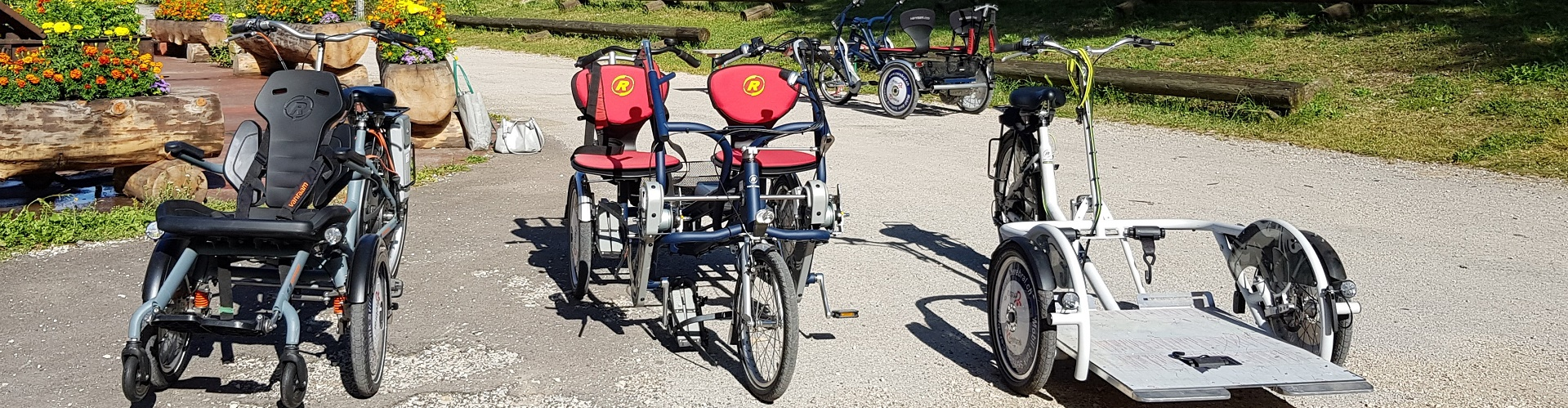 Accessibilité dans le Val-de-Travers grâce à des vélos électriques pour personnes handicapées, mines d'asphalte de La Presta